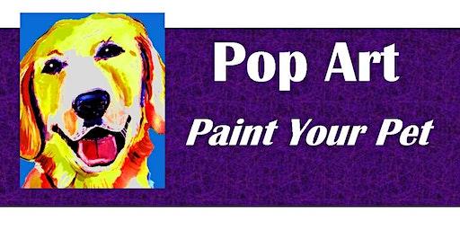 Pop Art Paint Your Pet at Pet Wants on the Avenue