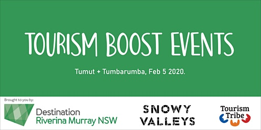 Tourism Boost Tumut