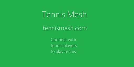 Tennis Mesh | Find tennis players | Find tennis partner