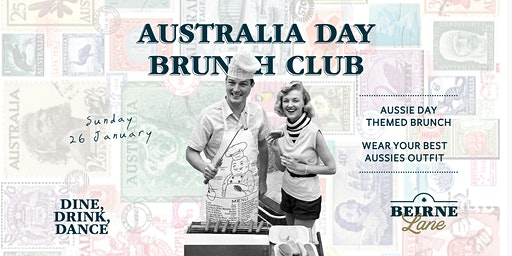 Australia Day Beirne Brunch Club 26th January