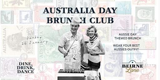 Australia Day Beirne Brunch Club 26th January