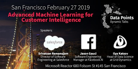 "Dynamic Talks: San Francisco ""Advanced Machine Learning for Customer Intelligence"" tickets"