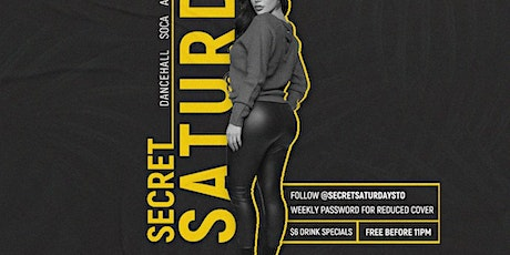 Secret Saturdays tickets