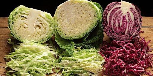 Fermenting Workshop; Making Sauerkraut; Kombucha; Veggies