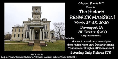 Renwick Mansion tickets