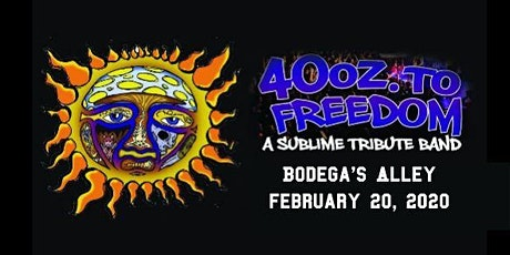40oz To Freedom - Sublime Tribute tickets