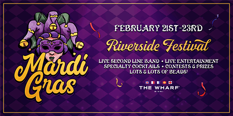 MARDI GRAS Riverside Festival tickets