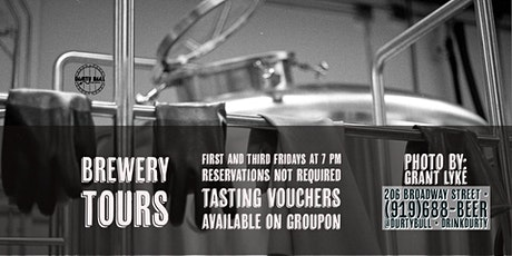 Brewery Tours tickets