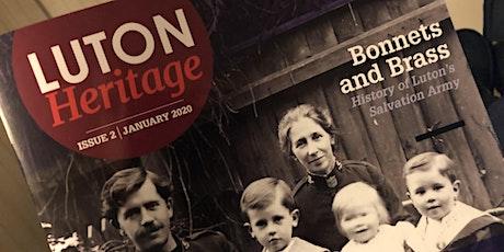 Luton Heritage Magazine - Volunteers Meeting tickets