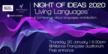 The Night of Ideas 2020 'Living Languages' tickets