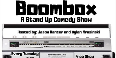 Boombox: A Standup Comedy Show tickets