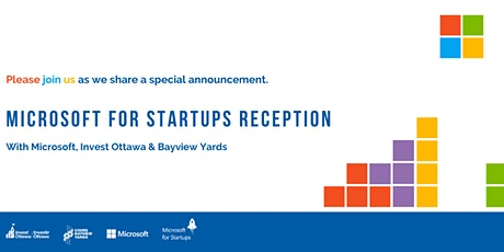 Microsoft for Startups Event tickets