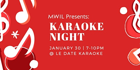 MWIL Karaoke Night tickets