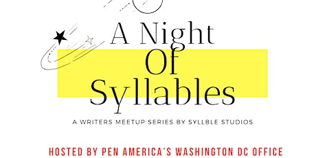 A Night of Syllables tickets