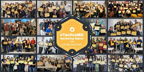 TacticoMD Cali - Entrenamiento de Marketing Digital Intensivo y 100% aplicado entradas
