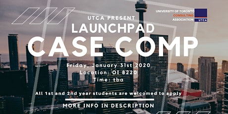 UTCA Launch Pad Case Competition tickets