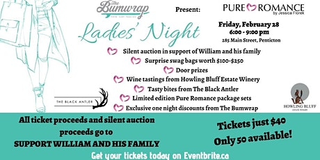 Ladies Night in support of William tickets