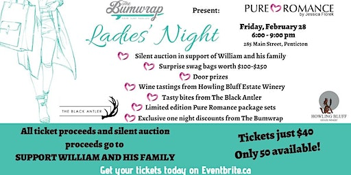 Ladies Night in support of William