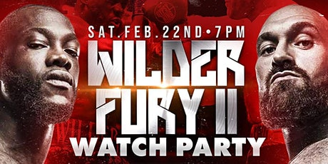 Wilder vs Fury II Watch Party @Hanovers 2.0 tickets