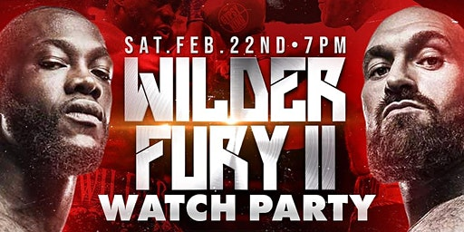 Wilder vs Fury II Watch Party @Hanovers 2.0