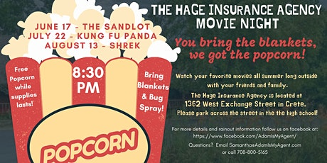 The Hage Insurance Agency Movie Night tickets