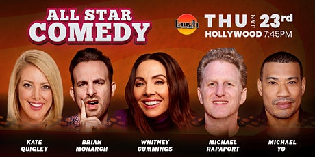 Whitney Cummings, Michael Rapaport, and more - All-Star Comedy tickets
