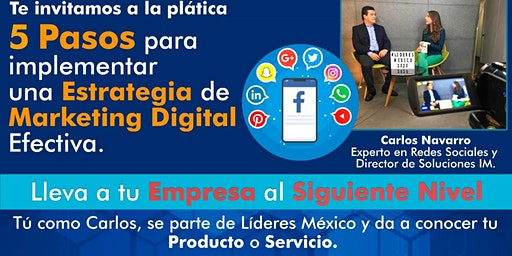 5 Pasos para implementar una estrategia de marketing digital efectiva