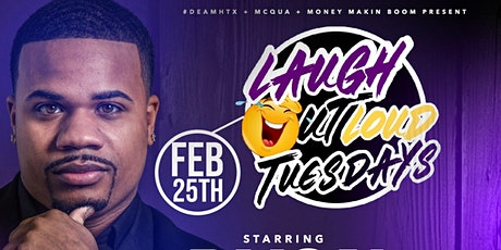 Feb. 25th Doyon Brooks at Laugh Out Loud Tuesday  @ Ador 403 W. Gray  St tickets