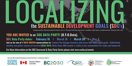 Sustainable Development Goals Project - March 16 tickets