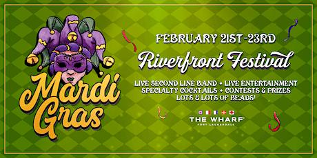 MARDI GRAS Riverfront Festival tickets