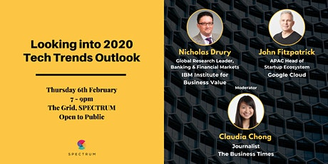 Looking into 2020 - Tech Trends Outlook tickets