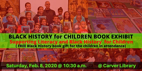 5th annual BLACK HISTORY for CHILDREN BOOK EXHIBIT 2020 tickets