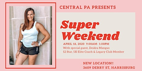 Central PA Super Weekend - April tickets
