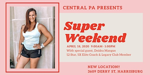 Central PA Super Weekend - April