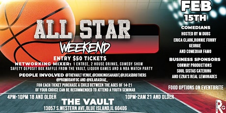 3 In 1 All Star  Comedy Show Watch Party and Dinner tickets