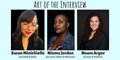Art of the Interview Workshop tickets