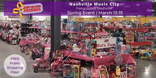 (FREE) PUBLIC ADMISSION | Spring 2020 - Nashville Music City JBF