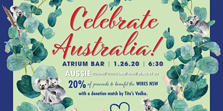 Celebrate Australia Day  benefiting WIRES  Australian Wildlife Rescue Org tickets