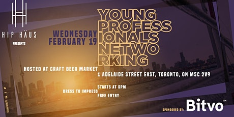 Young Professionals Networking by The Hip Haus - Feb 19th, 2020 tickets