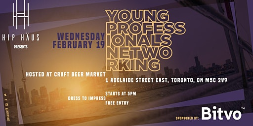 Young Professionals Networking by The Hip Haus - Feb 19th, 2020