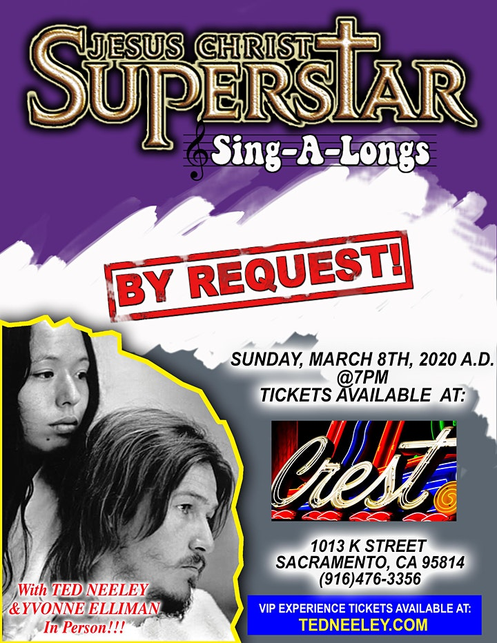 Jesus Christ Superstar with Ted Neeley & Yvonne Elliman in person! image