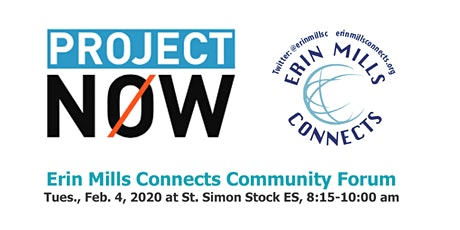 Erin Mills Connects - COMMUNITY FORUM - All are welcome tickets
