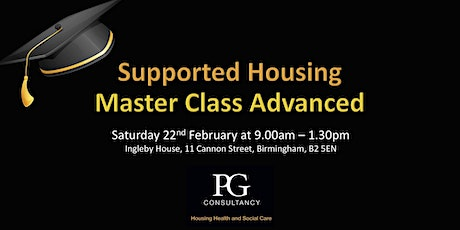 Supported Housing Master Class ADVANCED - Birmingham tickets