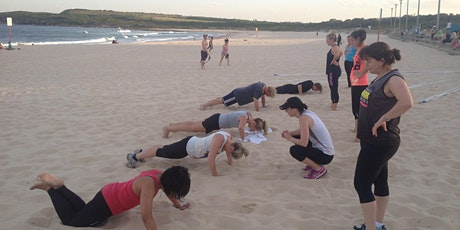 Fire relief fund raiser - 3 Part group Fitness Session tickets