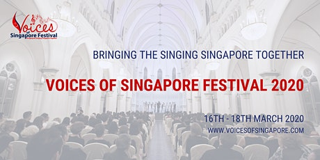 Voices of Singapore Festival - Session 19 (Day 3, 4.30pm) tickets