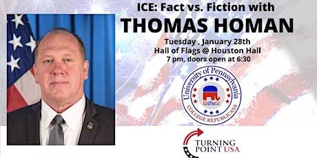 ICE: Fact vs. Fiction with Thomas Homan tickets