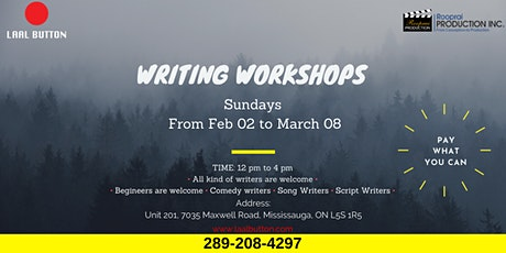Writing Workshop tickets