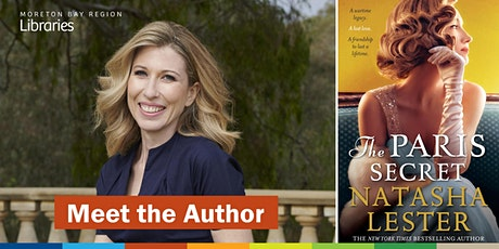 CANCELLED: Meet the Author: Natasha Lester - North Lakes Library tickets