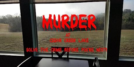 A Murder at Cedar Creek Lake tickets