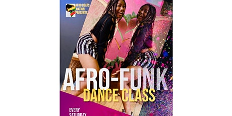 AFROFUNK DANCE CLASS  tickets